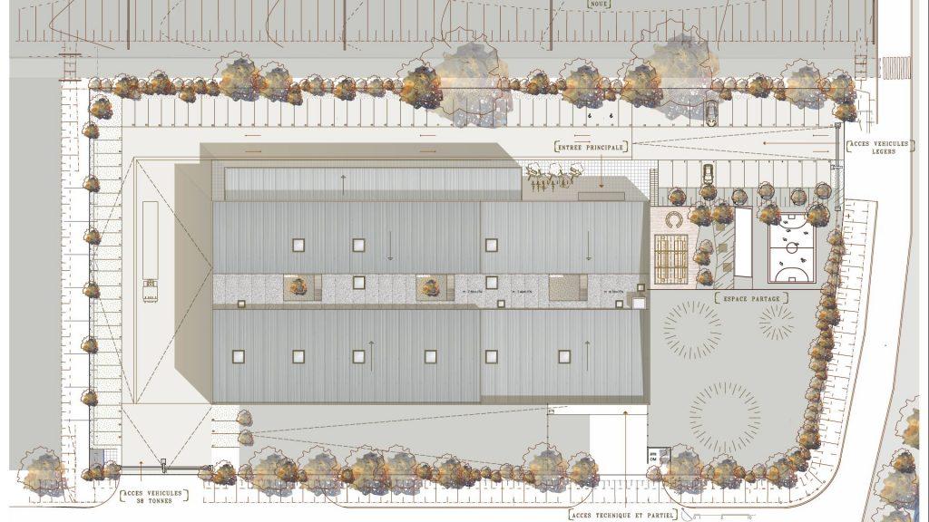 Seuil Architecture-AEREM-plan masse