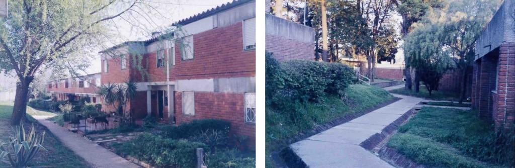 Projets de logements et habitats collectifs de la FUCVAM de Montevideo, visités en 2000