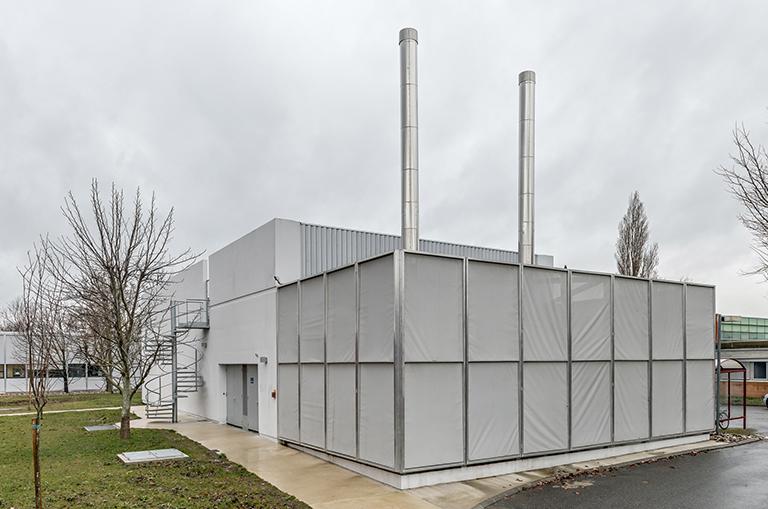 Le projet bénéficie d'une architecture moderne et épurée.