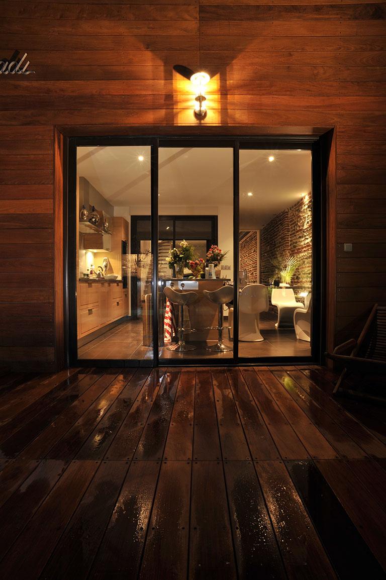 maison moderne, maison contemporaine, projet de construction, habitat, architecture d'intérieure