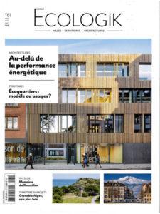 Seuil architecture dans Ecologik avec le projet Abricoop