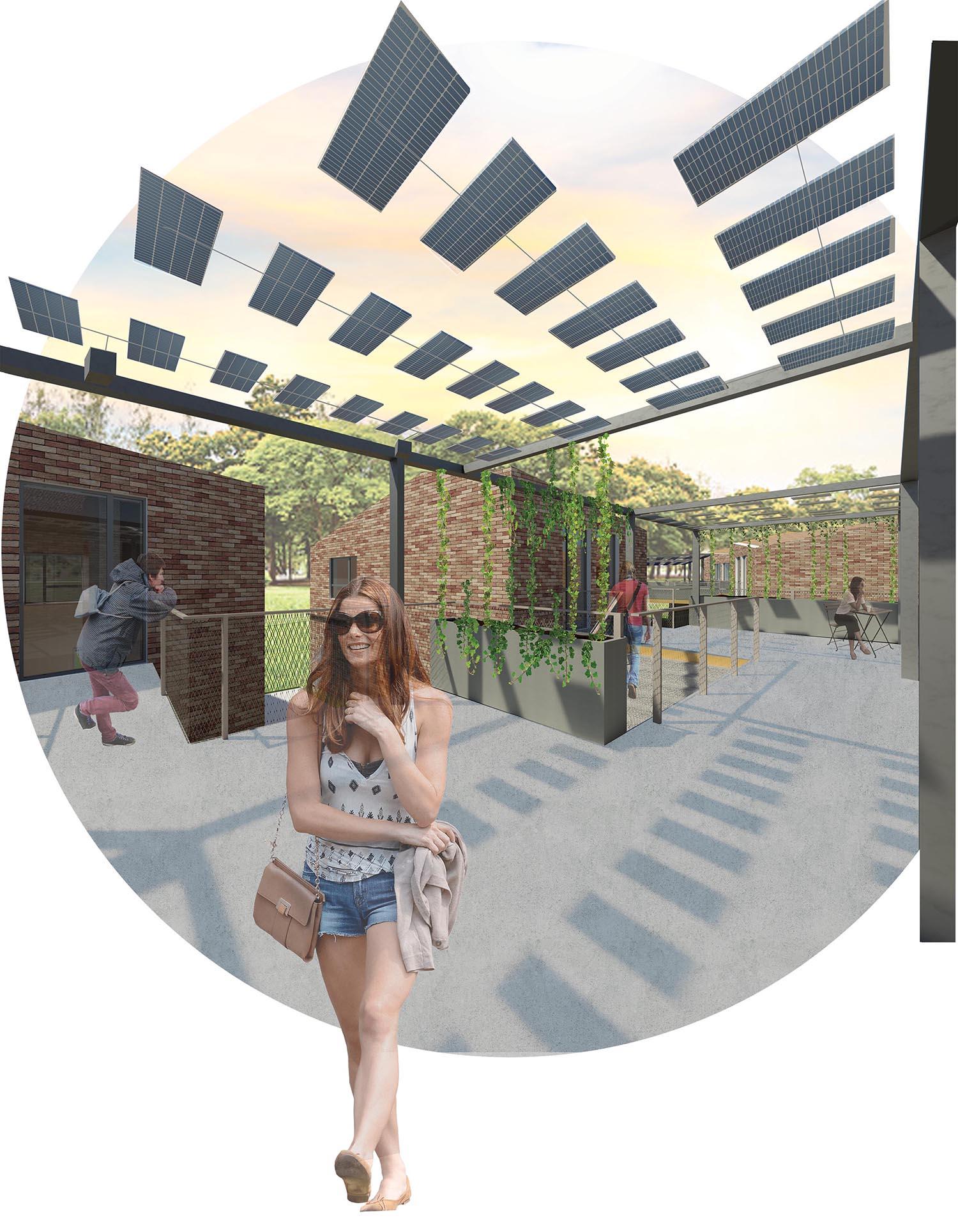 Seuil architecture - Eco-campus de l'école supérieure de La Raque - Des espaces interconnectés