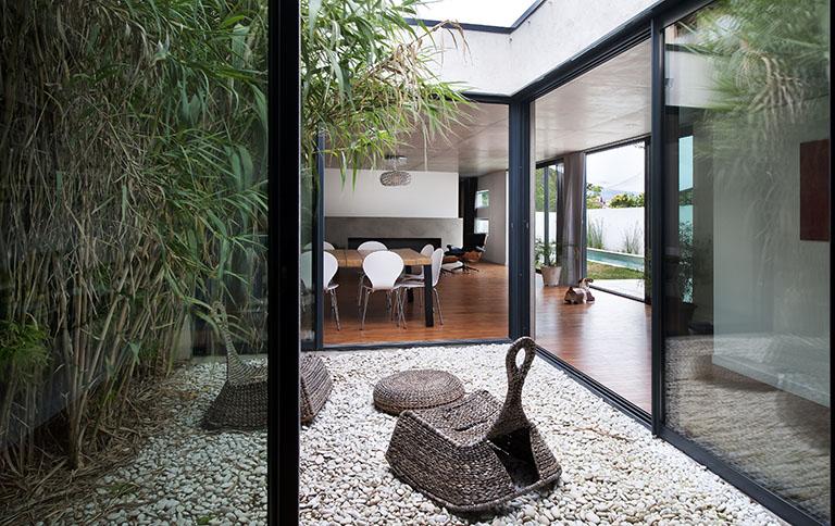 maison contemporaine, architecte d'intérieur, maison moderne, habitat, projet d'architecture,