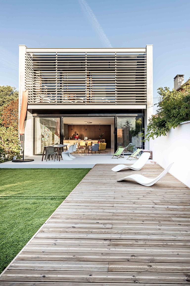 maison contemporaine, architecture d'intérieur, habitat, architecture moderne, construction