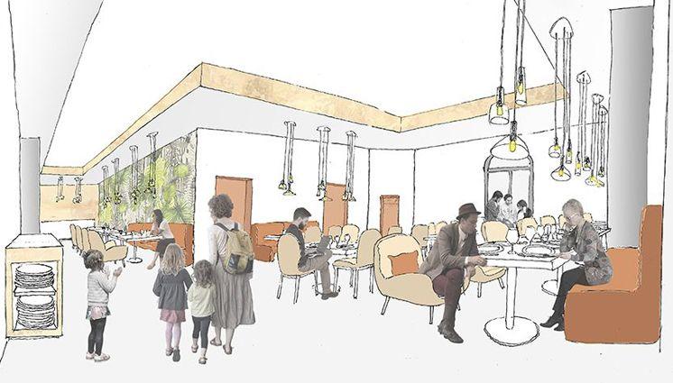 Le futur centre international de séjour de La Mounède embarque un restaurant d'application, lieu de convivialité
