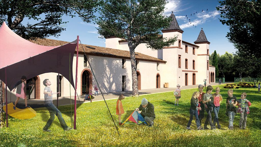 Seuil-Architecture-Hébergements-expérientiels-chateau-centre-international-sejour-toulouse